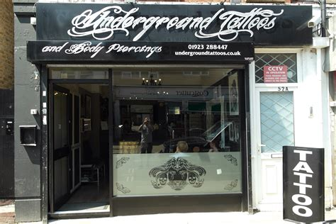 piercing and tattoo shops underground tattoos piercing