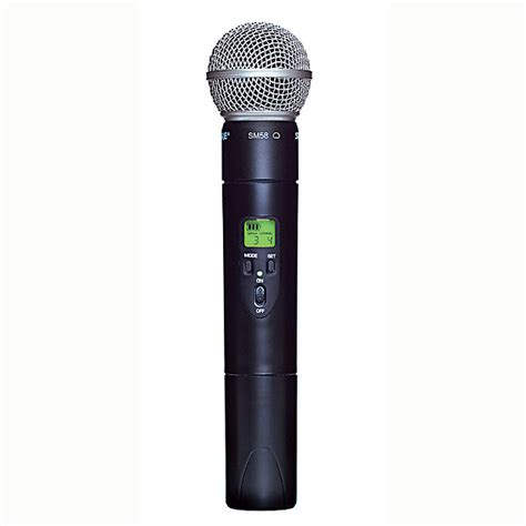 Mic Microphone Shure Ulx 8 N Professional shure ulx2 58 wireless handheld transmitter with sm58 g3