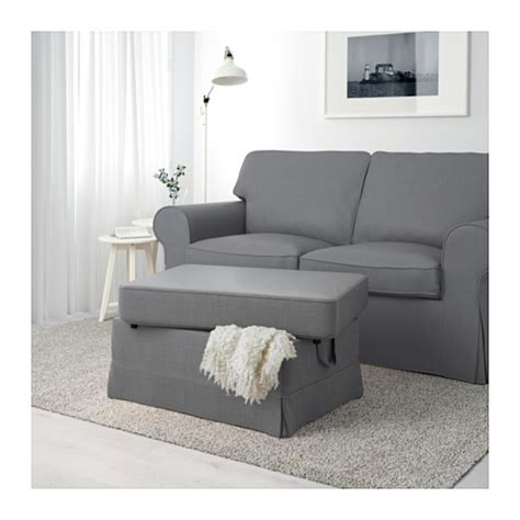 ikea divano letto ektorp ektorp footstool nordvalla grey ikea