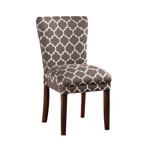 Grey Parsons Chair by