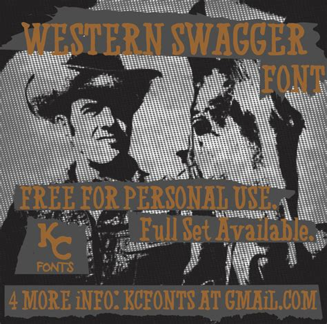 dafont western western swagger font dafont com
