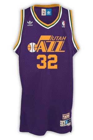 utah jazz jersey history jersey museum