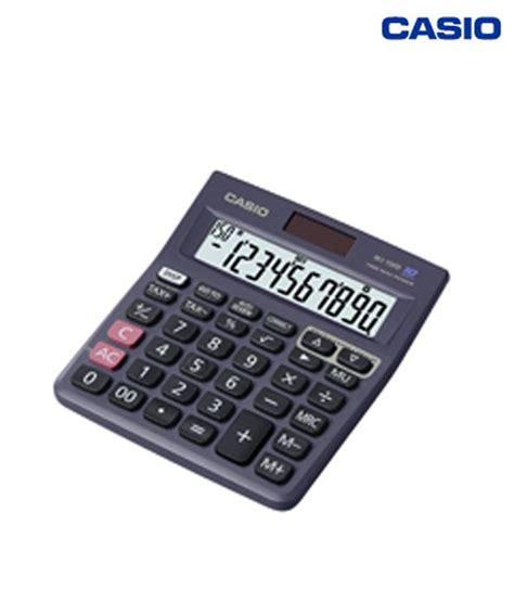 calculator online casio casio check calculator mj 100d buy online at best price