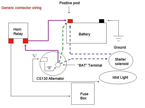 10si alternator wiring diagram 30 wiring diagram images