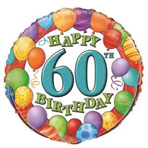 happy 60th birthday quot mylar balloon partys r us