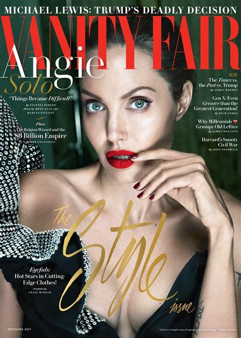 vanit fair jolie s vanity fair cover story vanity fair