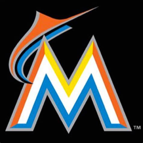 miami marlins colors new miami marlins quot rainbow bright quot logo way base