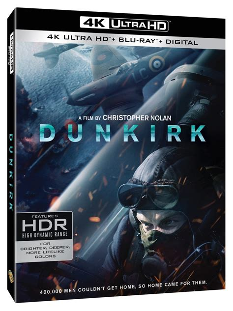film dunkirk amazon dunkirk blu ray and 4k home entertainment release details