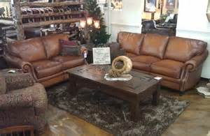 Rustic Leather Sofas Artistic Premium Rustic Leather Sofa From Bradley S