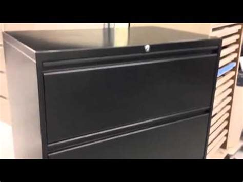 office specialty file cabinet 4 drawer lateral filing cabinet 30 quot black office specialty