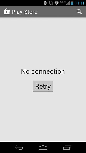 Play Store Says No Connection My Play Store Won T Connect Android Forums At