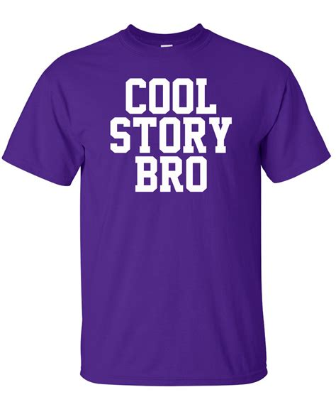 Graphic Tees Cool Story Bro Jersey Shore Logo Graphic T Shirt