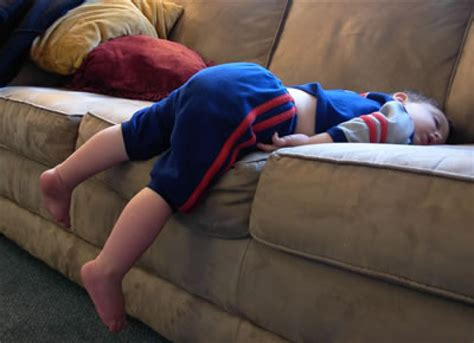 sleeping on a couch ways to get your child s sleep routine back on track