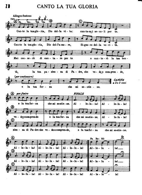 gloria a dio buttazzo testo spartiti dei canti