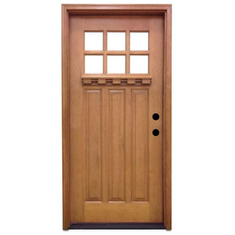 Home Depot Exterior Wood Doors Flawless Home Depot Wood Doors Brown Wood Wood Doors Front Doors The Home Depot Door