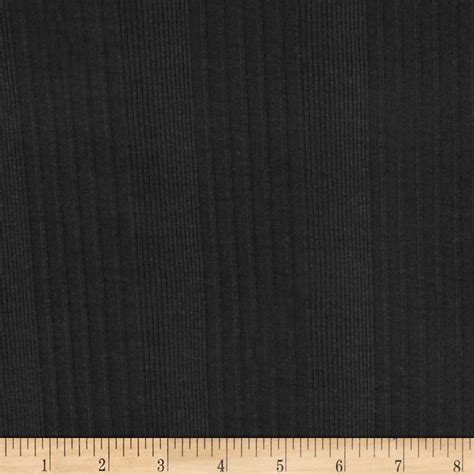 rib knit fabric poor boy rib knit black discount designer fabric