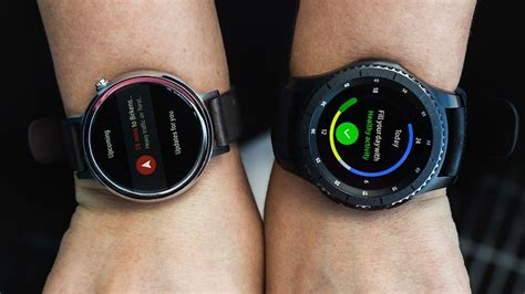 android wear fitness android wear vs tizen war of the watches androidpit