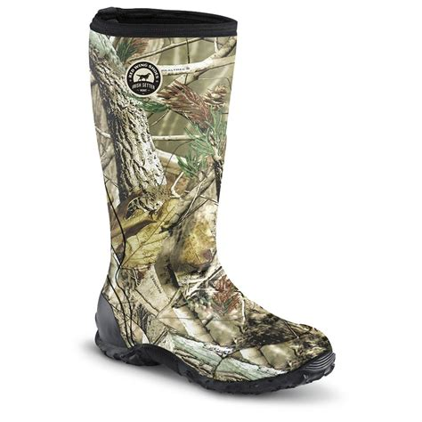 guide gear 174 realtree 174 mens camo rubber boots 28 images s muck boots 8 quot
