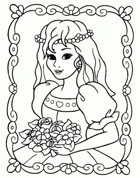 imagenes para pintar de princesas pintar princesas