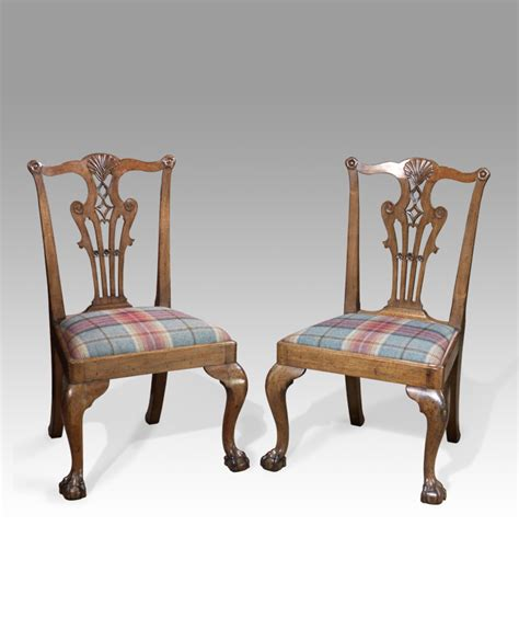 chippendale chair pair of chippendale chairs pair of antique dining chairs