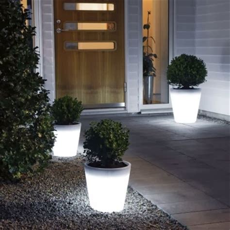 Glowing Planter Pots by Don T Pin That Glow In The Planters
