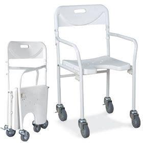 sedie con ruote per disabili sedia da doccia con ruote piccole pieghevole ausili per
