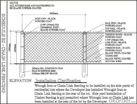Top 5 Home Design Software by Buy Low Carbon Steel Wire Chain Link Fence Price Size