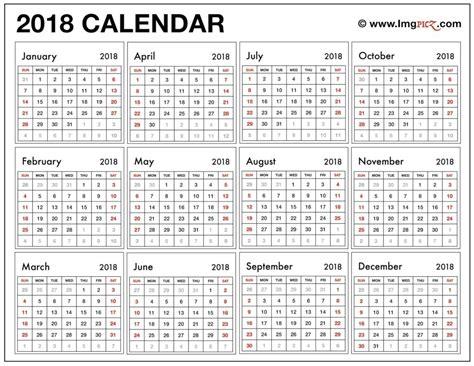 printable calendar 2018 large print 2018 large print printable calendar seven photo