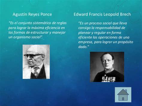 biografias y vida de agustin reyes ponce administraci 243 n y empresa