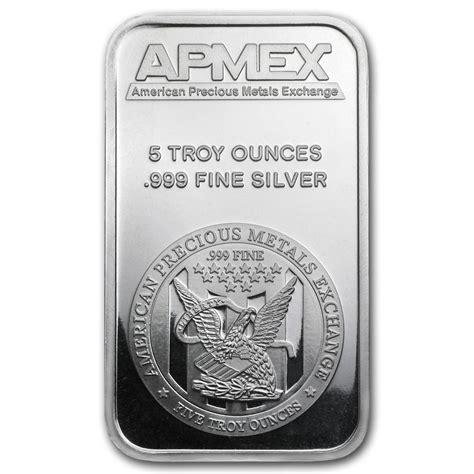 10 oz silver bars for sale 5oz silver bullion bars for sale buy apmex branded