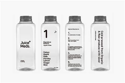 Detox White Label by Retail Design Juice Meds Branding By Empat 237 A