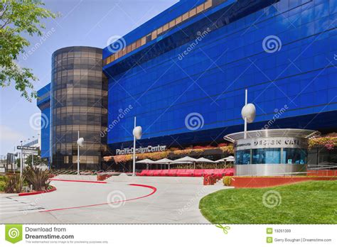 design center usa pacific design center in los angeles editorial stock image