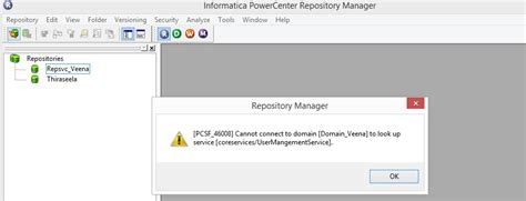 Lookup Service Pcsf 46008 Cannot Connect To Domain To Lookup Service Explore Informatica