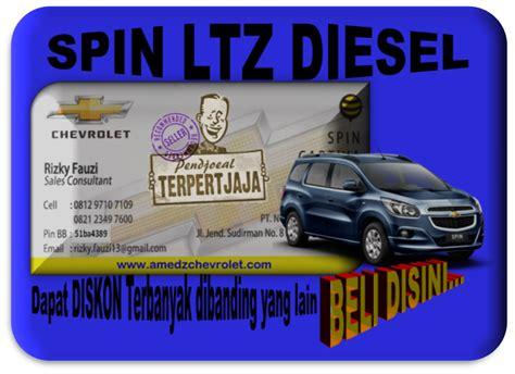 Talang Air Chevrolet Spin Kenzaku Premium Diskon diskon dan bonus spin ltz diesel jualan mobil