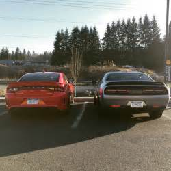 Dodge Challenger 2015 Srt 2015 Dodge Challenger Srt Hellcat And 2015 Dodge Charger