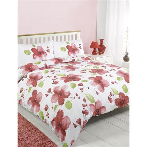 poppy comforter hamilton mcbride large poppy print bedding set in red