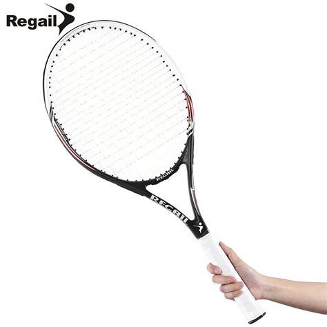 Raket Carbon ᐂ2 colors competitive tennis racket carbon aluminum alloy tennis racket
