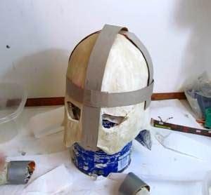 How To Make A Paper Helmet - make the skyrim iron helmet