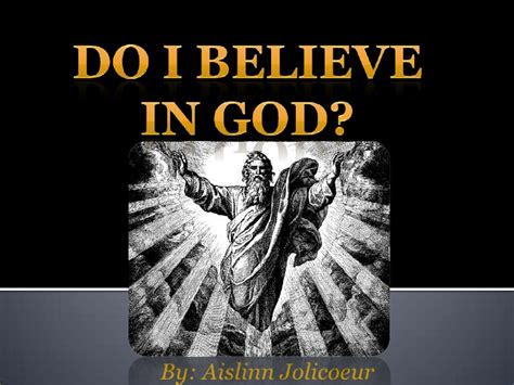 I Believe In God Essay by Essay On I Believe In God
