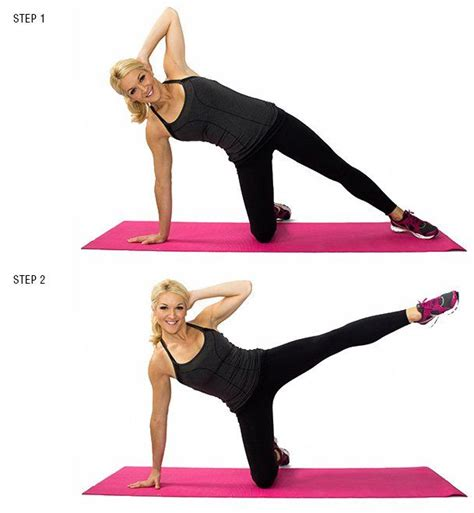 25 best ideas about side crunches on bicycle crunches side ab workouts and plank