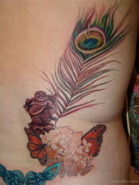 large female tattoo designs feather tattoos designs pictures