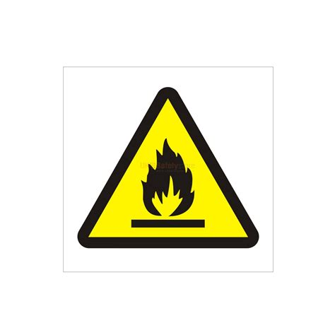 Next Wall Sticker flammable sign safety signs uk safety store