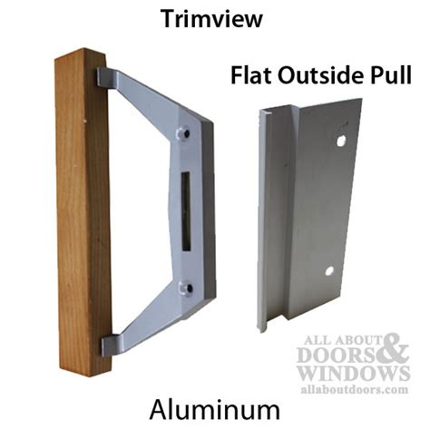 sliding aluminium patio door replacement handles trimview sliding patio door handle set 3 1 2 h c alum