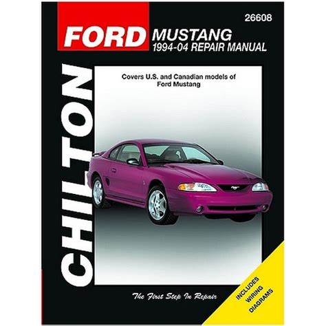 car repair manuals download 1994 ford f series windshield wipe control 1994 2004 ford mustang chilton manual northern auto parts