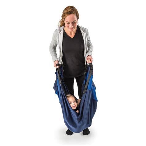 swaddle swing portable pediatric swaddle swing for vestibular stimulation
