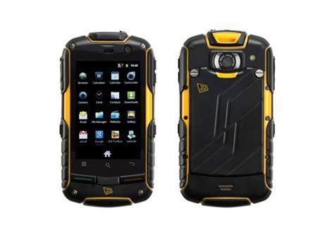 new rugged smartphone jcb toughphone pro smart rugged android smartphone coolest material