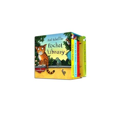 axel scheffler pocket library english wooks
