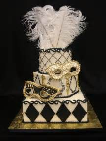 Wedding Cake New Orleans Masquerade Wedding Cakes Pinterest