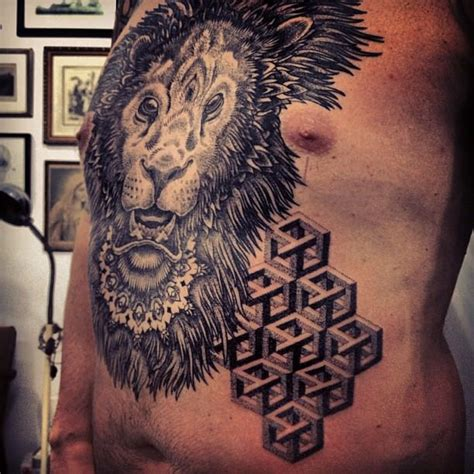 animals illusions  dot work tattoos  gregorio marangoni ratta tattooratta tattoo