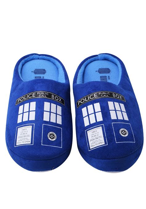 doctor who slippers doctor who tardis slippers